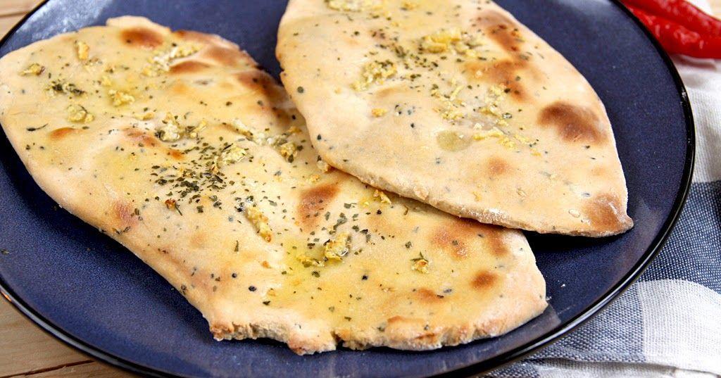 Chlebek Naan Indyjski Chlebek Kuchnia Indyjska Jak Zrobić