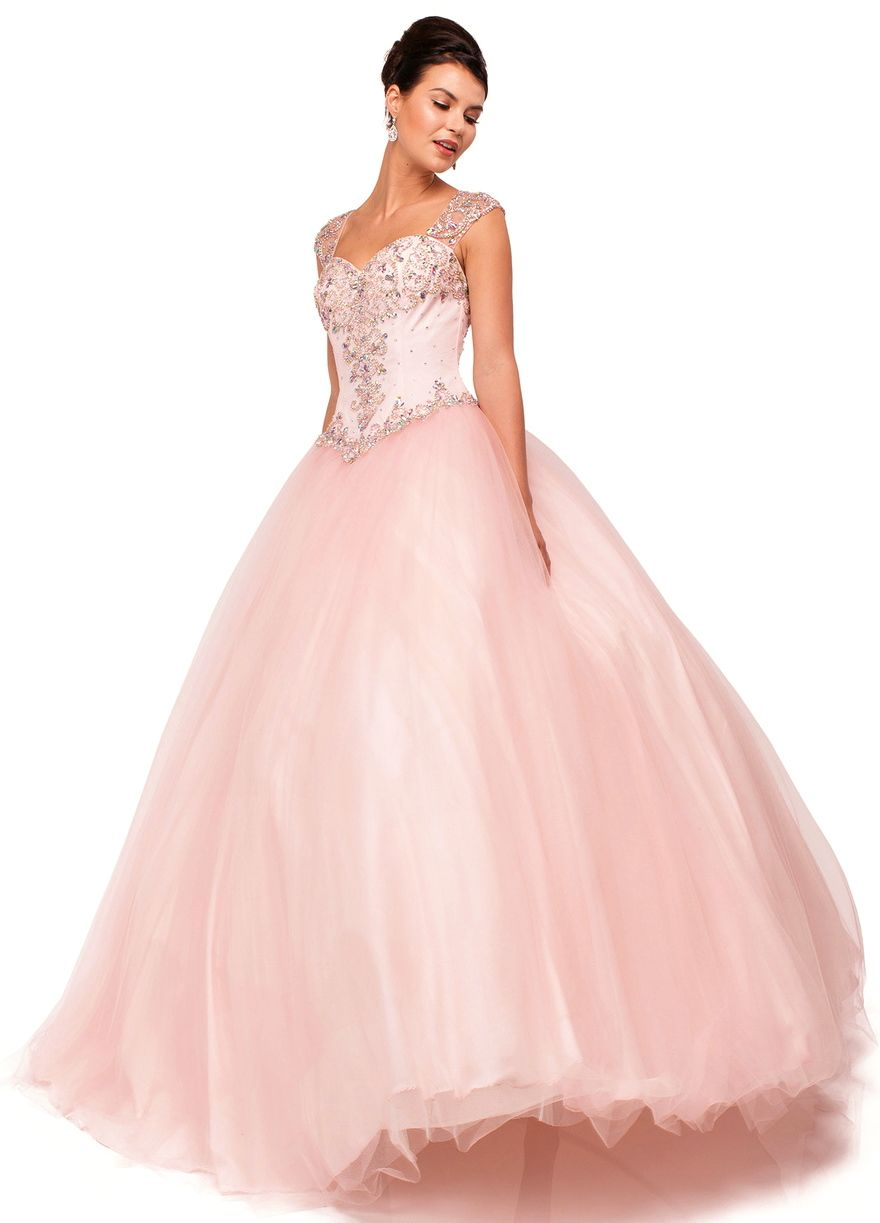 Quinceanera Dresses Prom Dresses<BR>aqn1104<BR>Queen Anne neckline ...