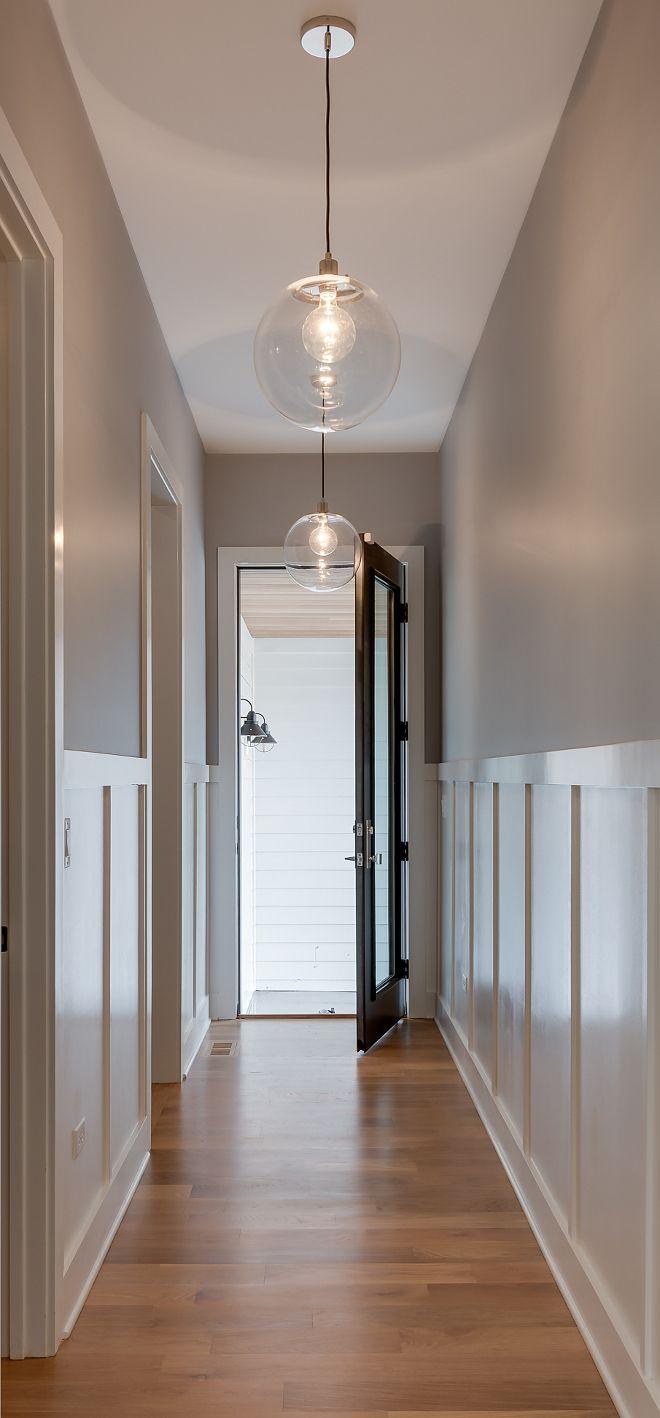 White Farmhouse With Wrap Around Porch In 2019 Hallway