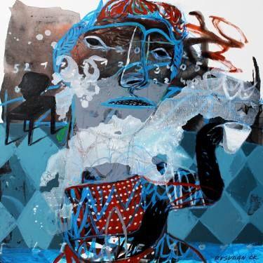 """Saatchi Art Artist Rusudan Khizanishvili; Painting, """"I like Coffe, I like Tea"""" #art"""