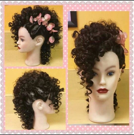 Creative Perm Wrap Design And Updo Perm Kids Hairstyles Wig Hairstyles