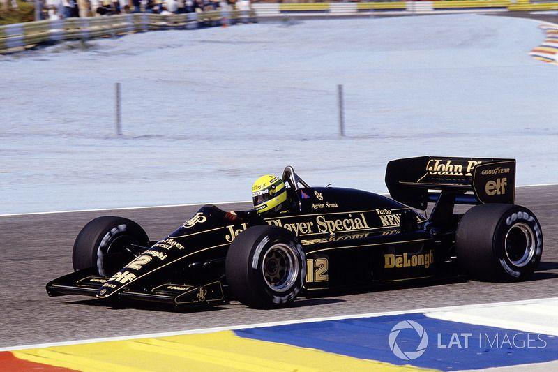 17 Ayrton Senna, Lotus 98T, Le Castellet 1986 106.526