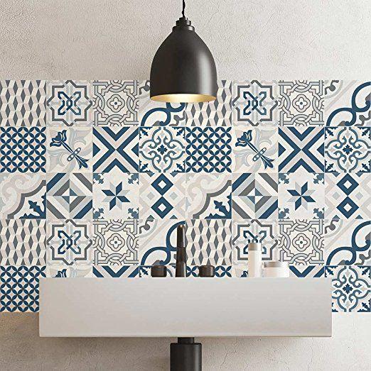 Carrelage Adhésif X Cm PS Leuca Adhésive - Stickers carrelage cuisine 15x15 pour idees de deco de cuisine