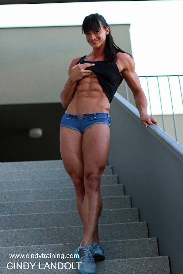 amp-addict: Cindy Landolt | Mujer / musculos | Pinterest ...
