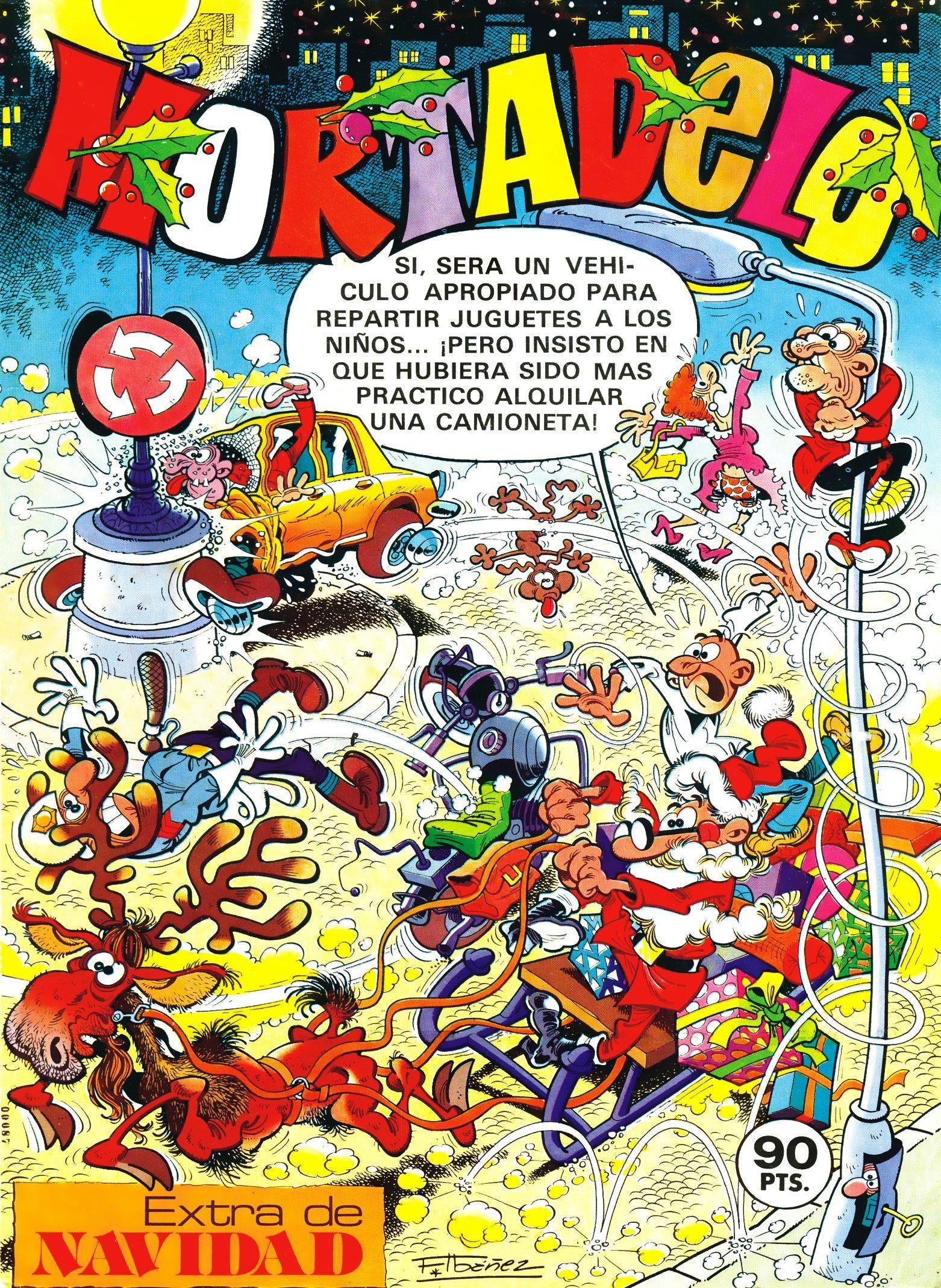 Mortadelo Época 1ª Extra de Navidad 1981