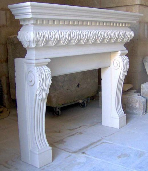 Camino Pietra Leccese Home Pinterest Fireplace Mantels