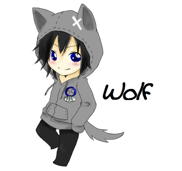 Anime Chibi Wolf Boy - Google Search