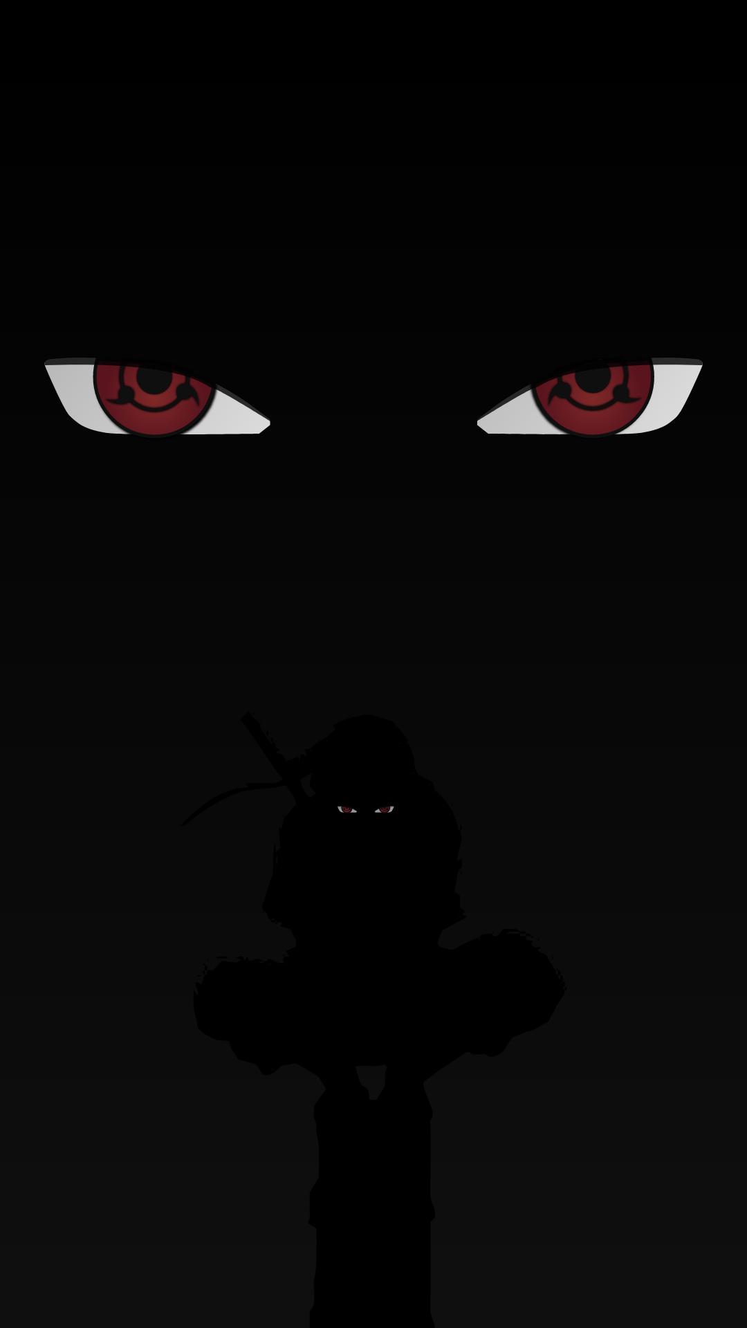 Sharingan - Itachi Uchiha - Naruto - Anime