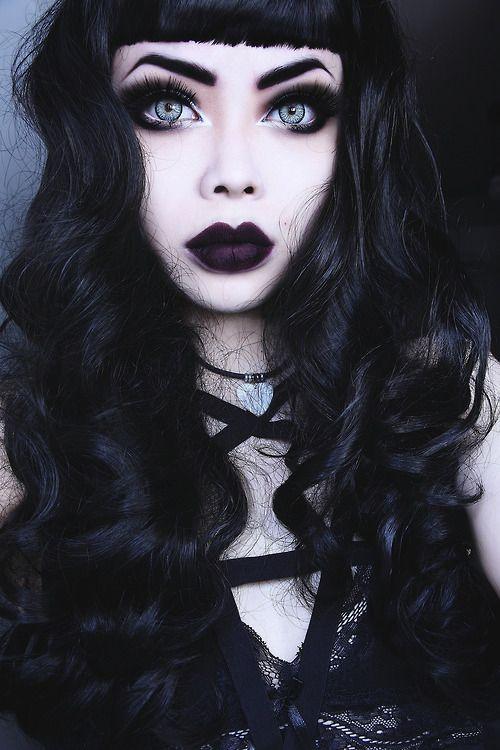 Oh my That skin tone.....I\'m in love! Dem brows, eyes, lips n hair ...