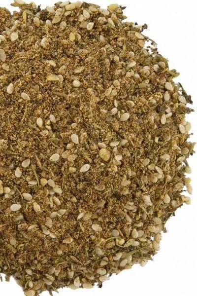 Egyptian | Dukka kruidenmix | Sesam, hazelnoten, koriander, komijn, zout, tijm, zwarte peper, munt.