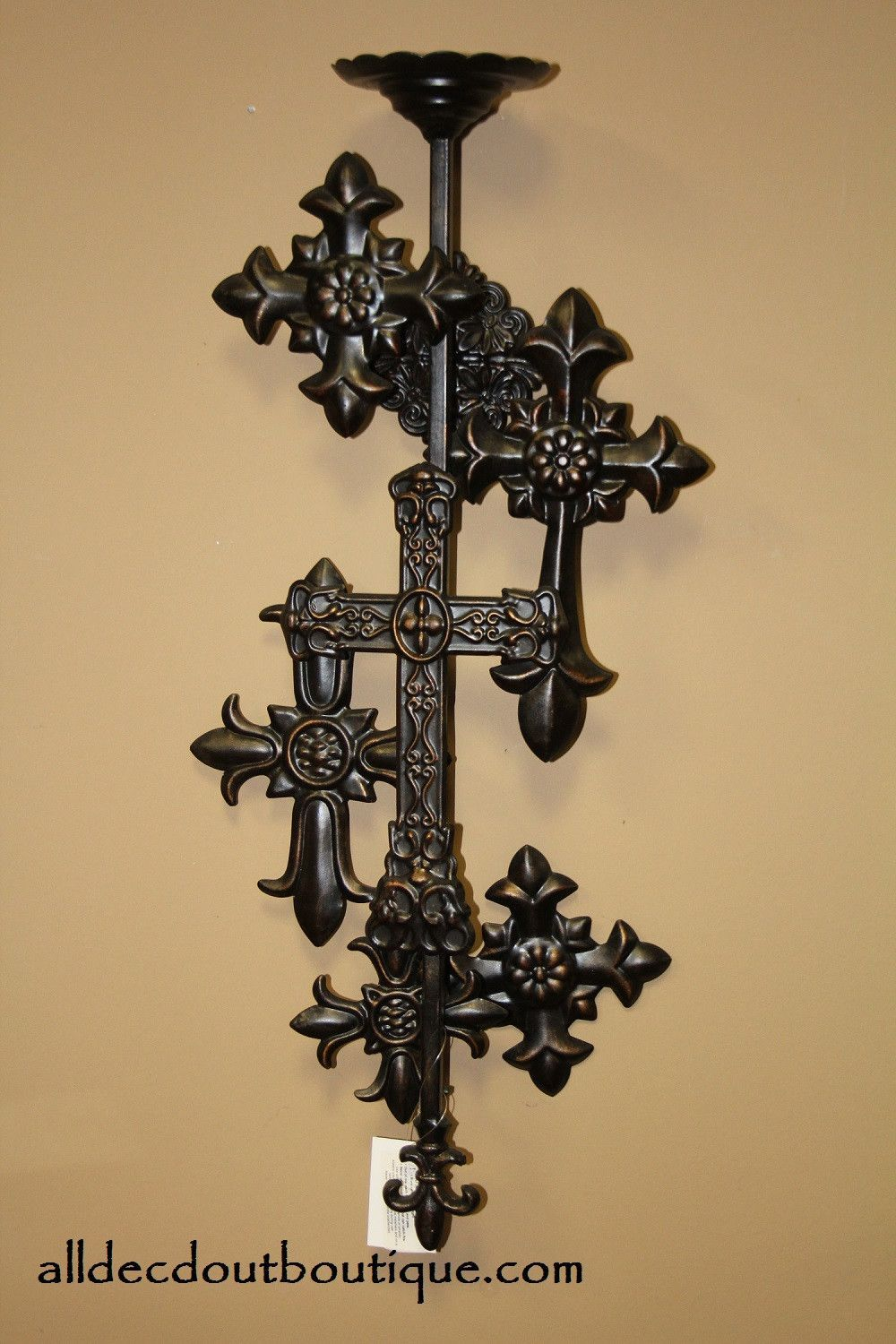 Fine Black Cross Wall Decor Component - The Wall Art Decorations ...