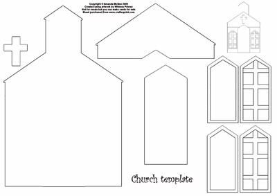 church template diy crafts that i love pinterest putz houses