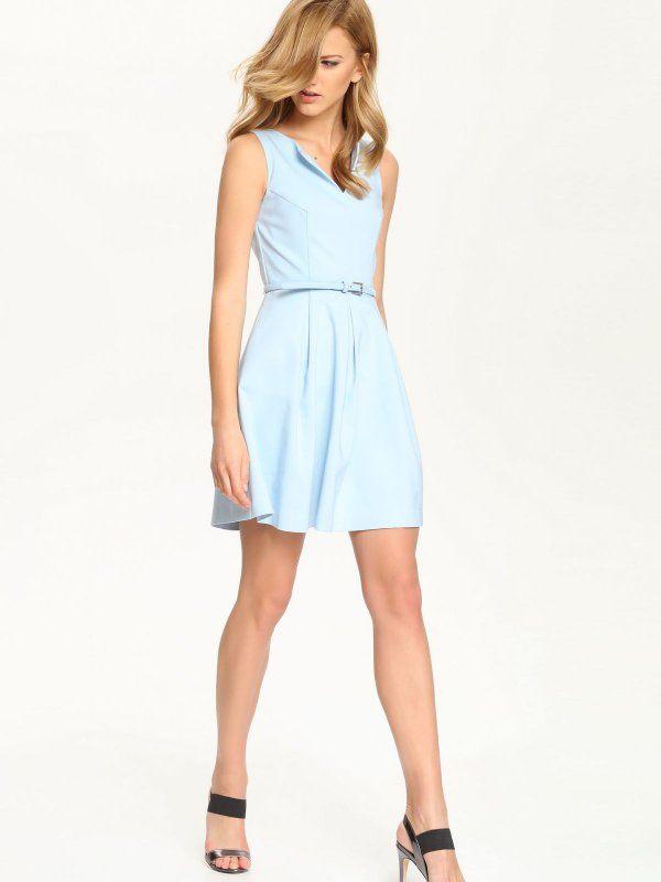 Sukienka Damska Niebieska Ssu1527 Sukienka Top Secret Odziezowy Sklep Internetowy Top Secret Dresses Fashion Graduation Dress