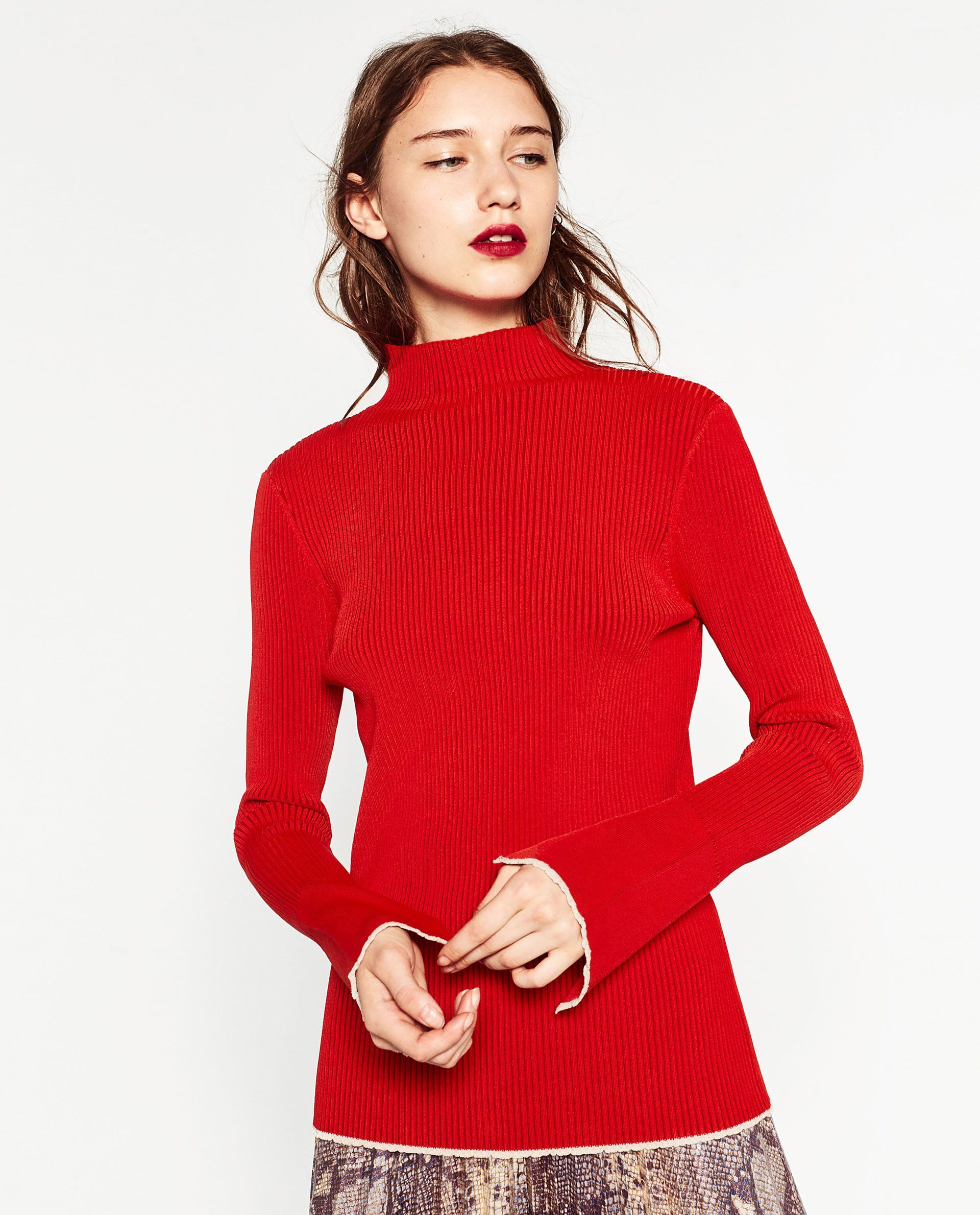 Zara's New Arrivals Will Get You Excited For Fall | Red sweaters ...