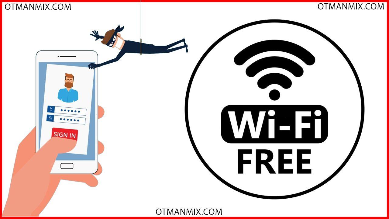 عثمان ميكس Otman Mix كيف اعرف كلمة سر Wifi كليمة المرور او كود واي فا Wifi 8th Sign