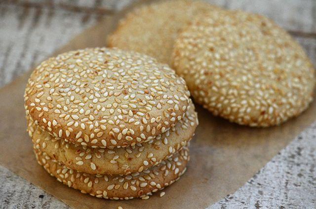 Martha Bakes Cookiesmideastern Cookies: Lebanese Crunchy Sesame Cookies