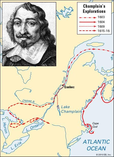 how to draw samuel de champlain