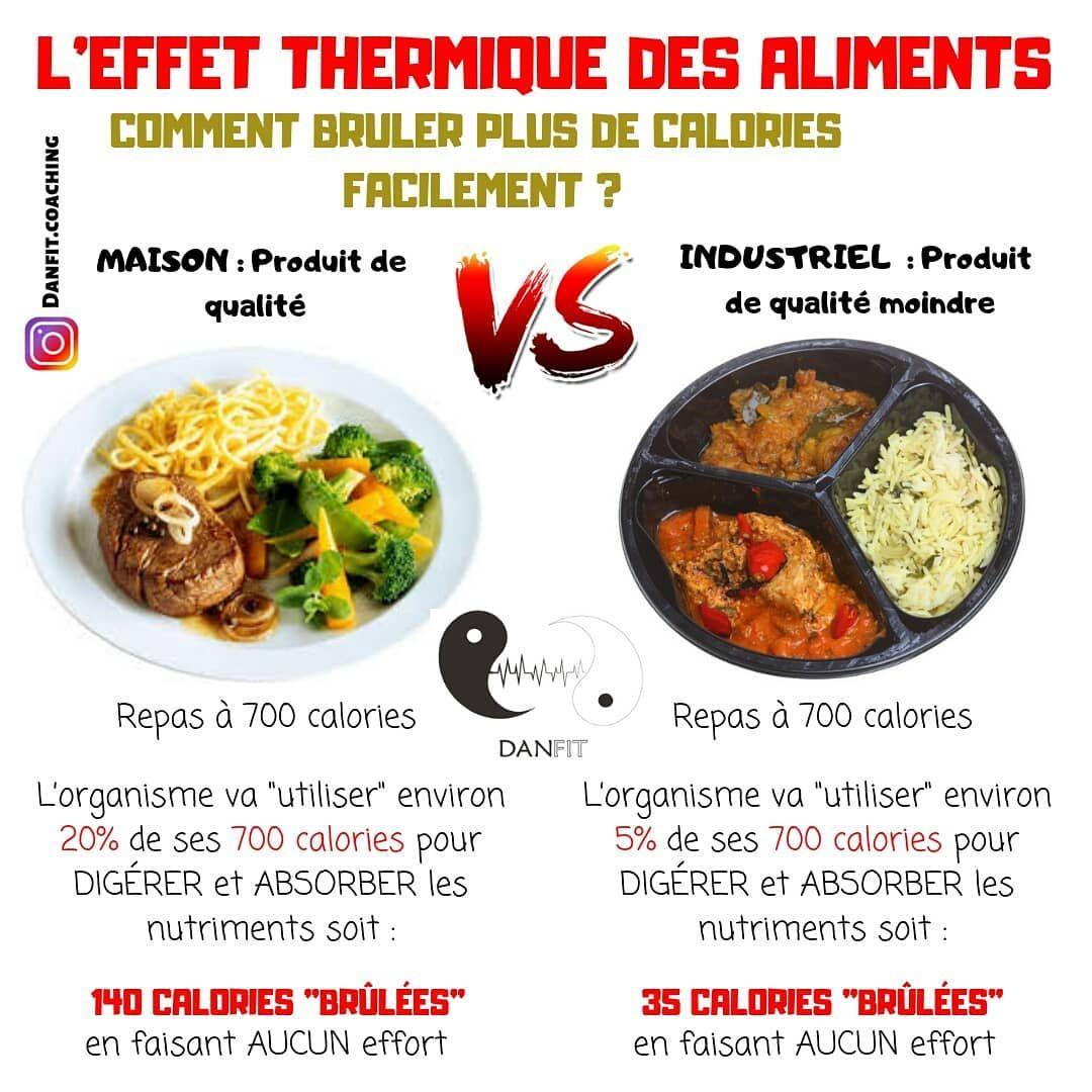 L'effet thermique des aliments pourrait te permettre d'augmenter ta dépense énergétique journalière...