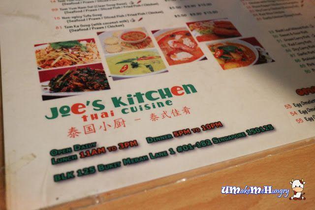 Joe S Kitchen Thai Cuisine Menu Thai Cuisine Cuisine Foodie