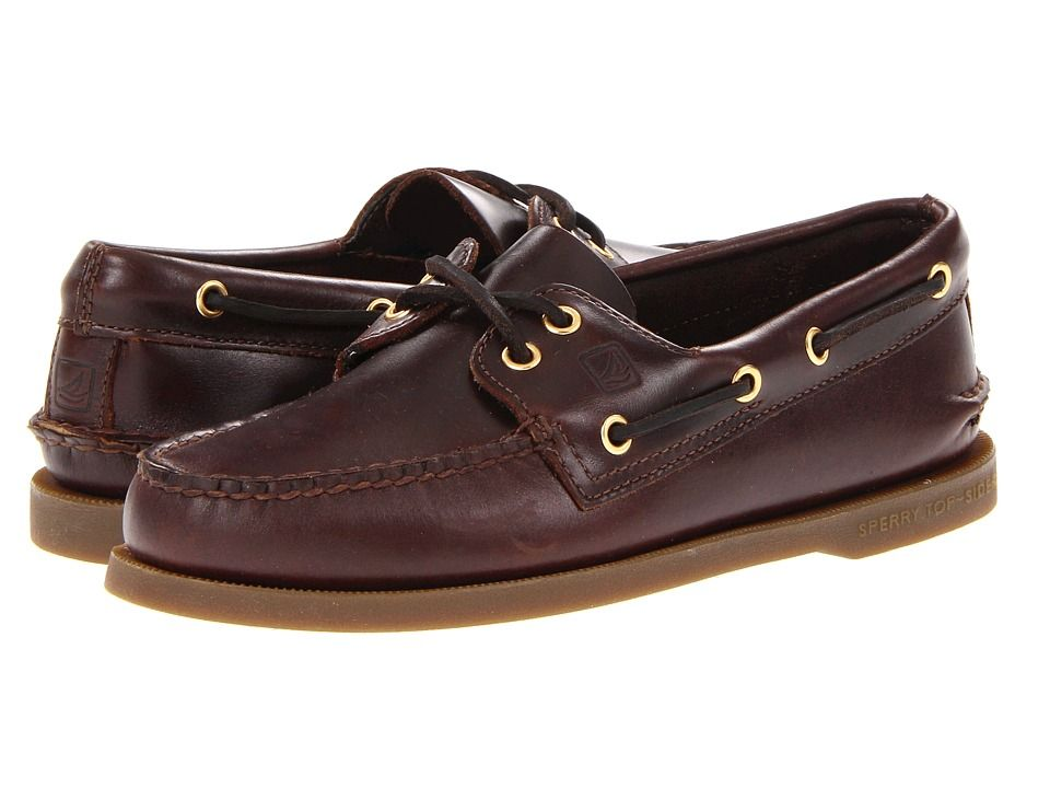 Sperry Top-Sider – Authentic Original (Amaretto) Men's Lace up casual Shoes  -