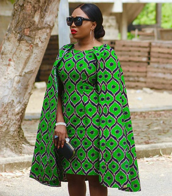 HOW TO MAKE A CAPE DRESS PATTERN DIY With DE La' Q Pinterest Extraordinary African Dress Patterns