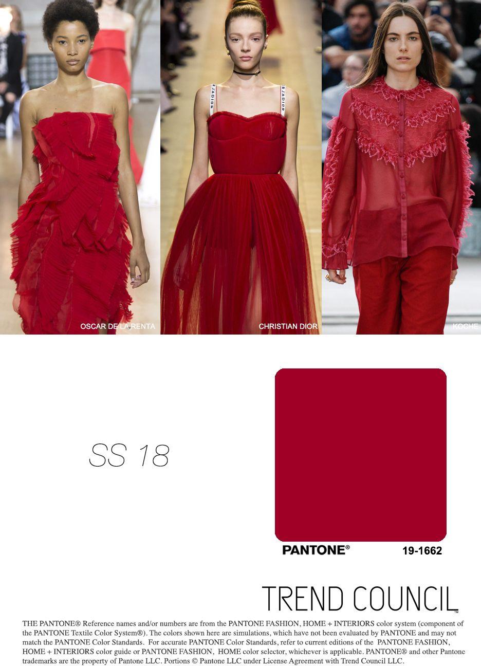 SS18 KEY COLOR | 2018 | Pinterest - Color trends, Fashion ...