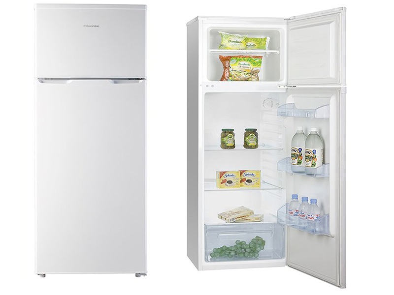 Hisense 280l Double Door Refrigerator Frost Free Rd28dr Double Door Refrigerator Double Doors Refrigerator