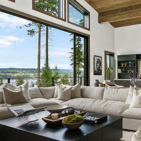 Decima Sectional Sofa Oatmeal Sectional Sofas Living Room Furniture Furniture In 2020 Modern Sofa Sectional Home Lulu And Georgia #oatmeal #sofa #living #room #ideas
