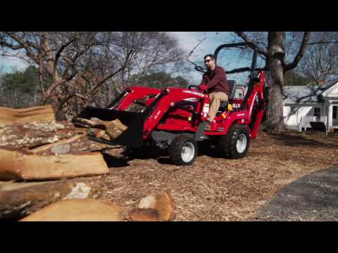 Massey Ferguson Gc1700 Series Overview And Features Youtube
