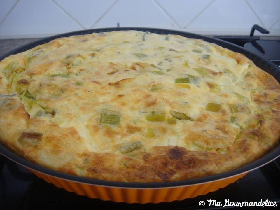 Qui est tenté par une quiche aux poireaux sans pâte ?  Miam, moi j'y cours :) => http://ow.ly/XU2dW