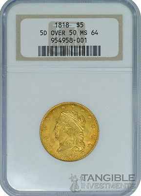 1818 5 Ngc Ms 64 Ebay Rare Coins Coins Paper Money