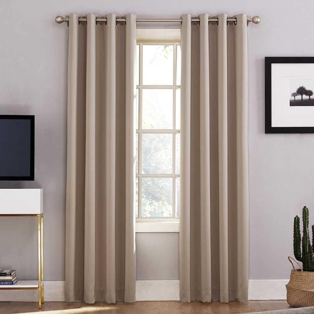 Window coverings to block sun  sun zero norway home theater grade extreme blackout window curtain