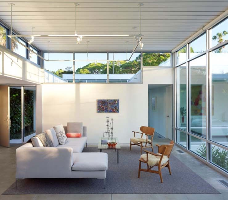 A Brand New Midcentury Modern Home Built In The Style Of Amazing Interior Design Sarasota Style