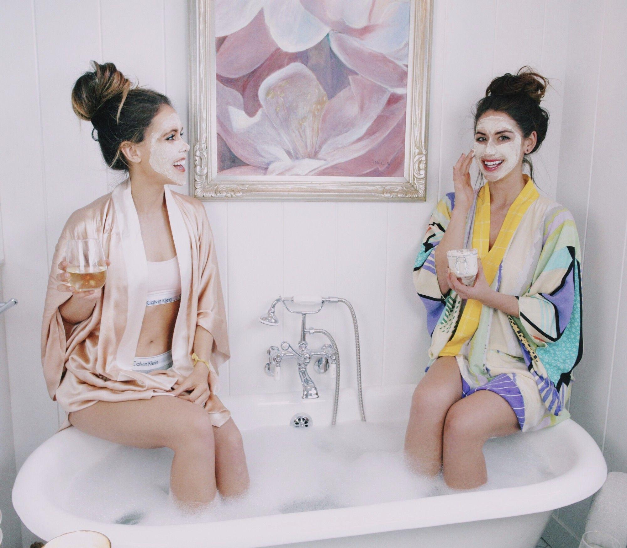 At Home Spa Day With K&K... & DIY Face Masks! | Diy face mask, Spa ...