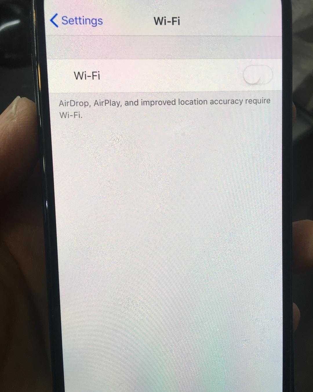 ایفون ایکس ایراد وایفای Iphone X Wifi Greyed Out #kara_mobile_center