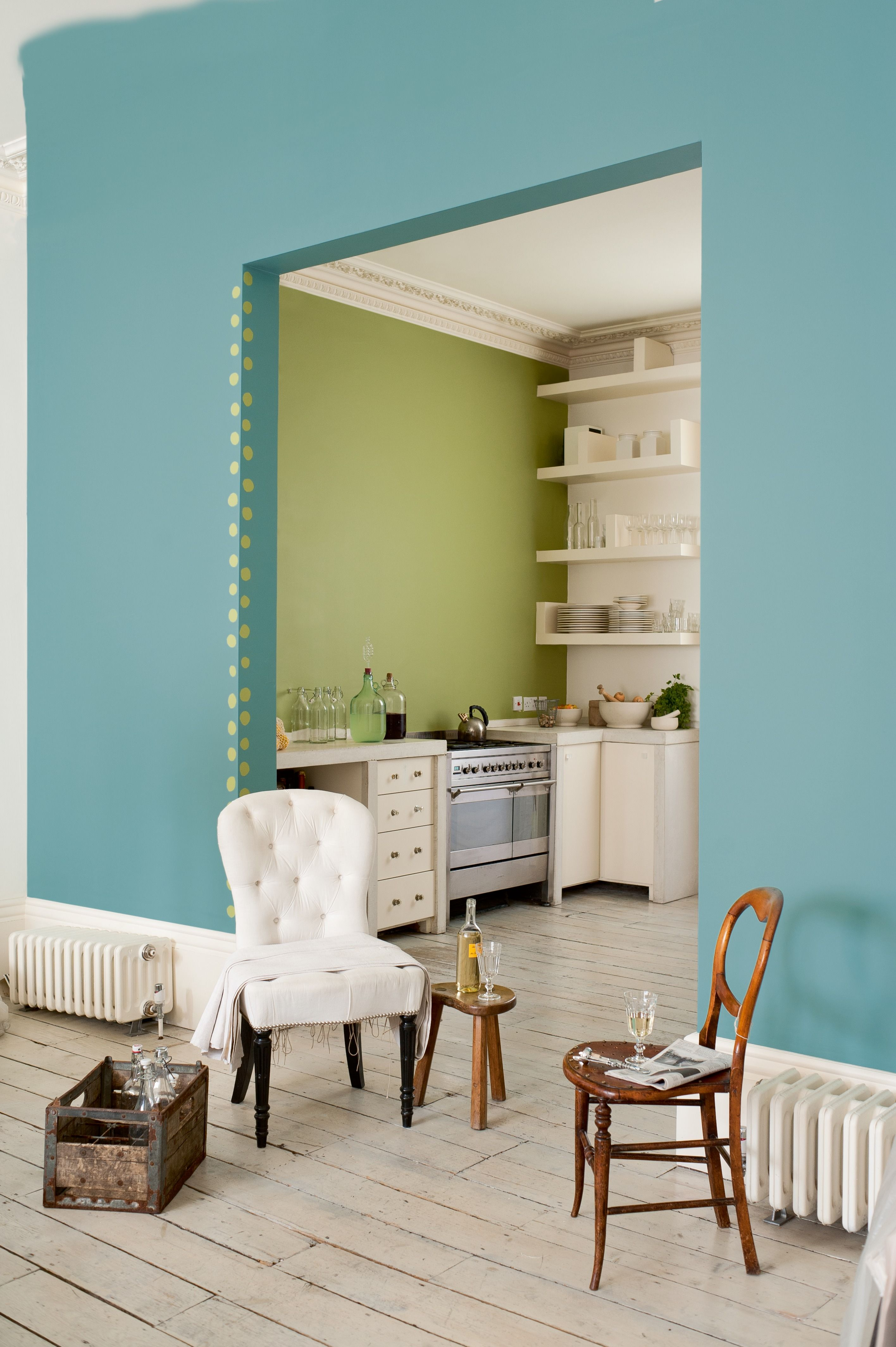 Velvet touch 2 is the perfect foreground to striking for Kitchen paint colors dulux