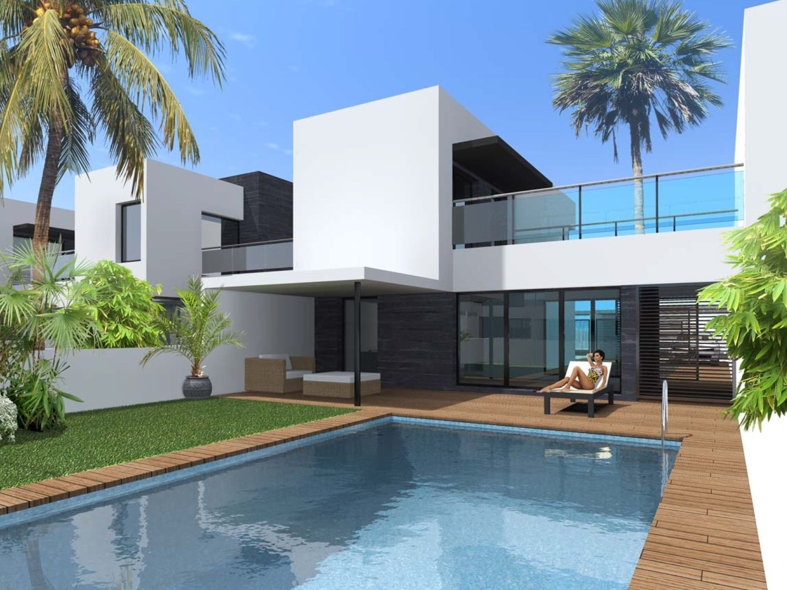 Costa Aday houses. New homes for sale in Fuerteventura