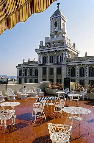 Vista Desde Una Terraza Del Hotel Del Edificio Bacardí