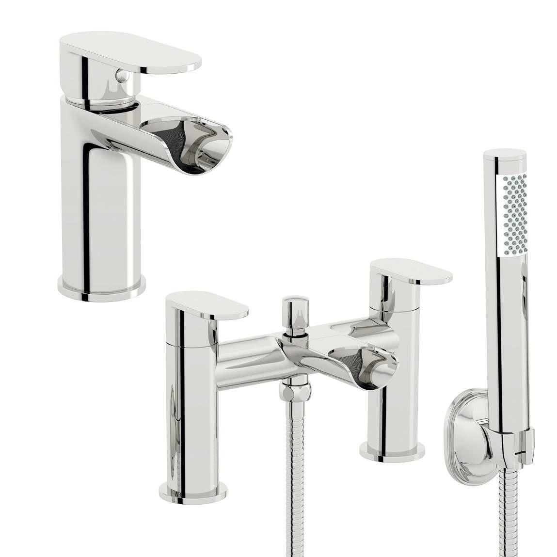 Keswick Basin And Bath Shower Mixer Pack Victoria Plumb Bath Shower Mixer Taps Shower Mixer Taps Bath Shower Mixer