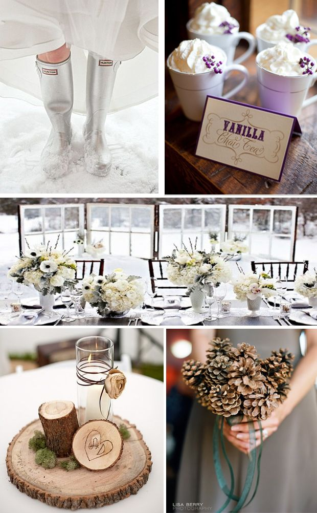 Best Ideas On Pinterest Winter Themed Wedding Details