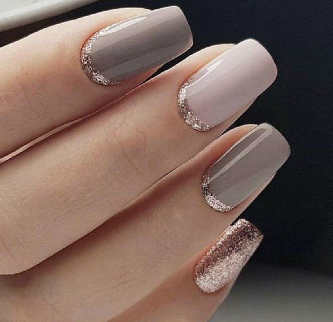 Más de 50 elegantes diseños de uñas para ideas perfectas de invierno - mermel