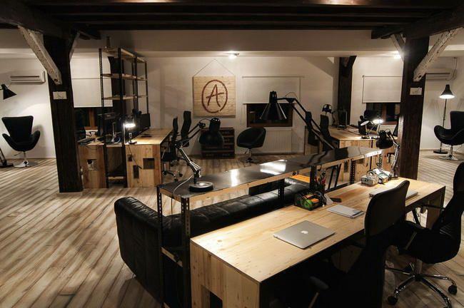 Elegant Rustic Commercial Office Ideas   Office Interior Design ...