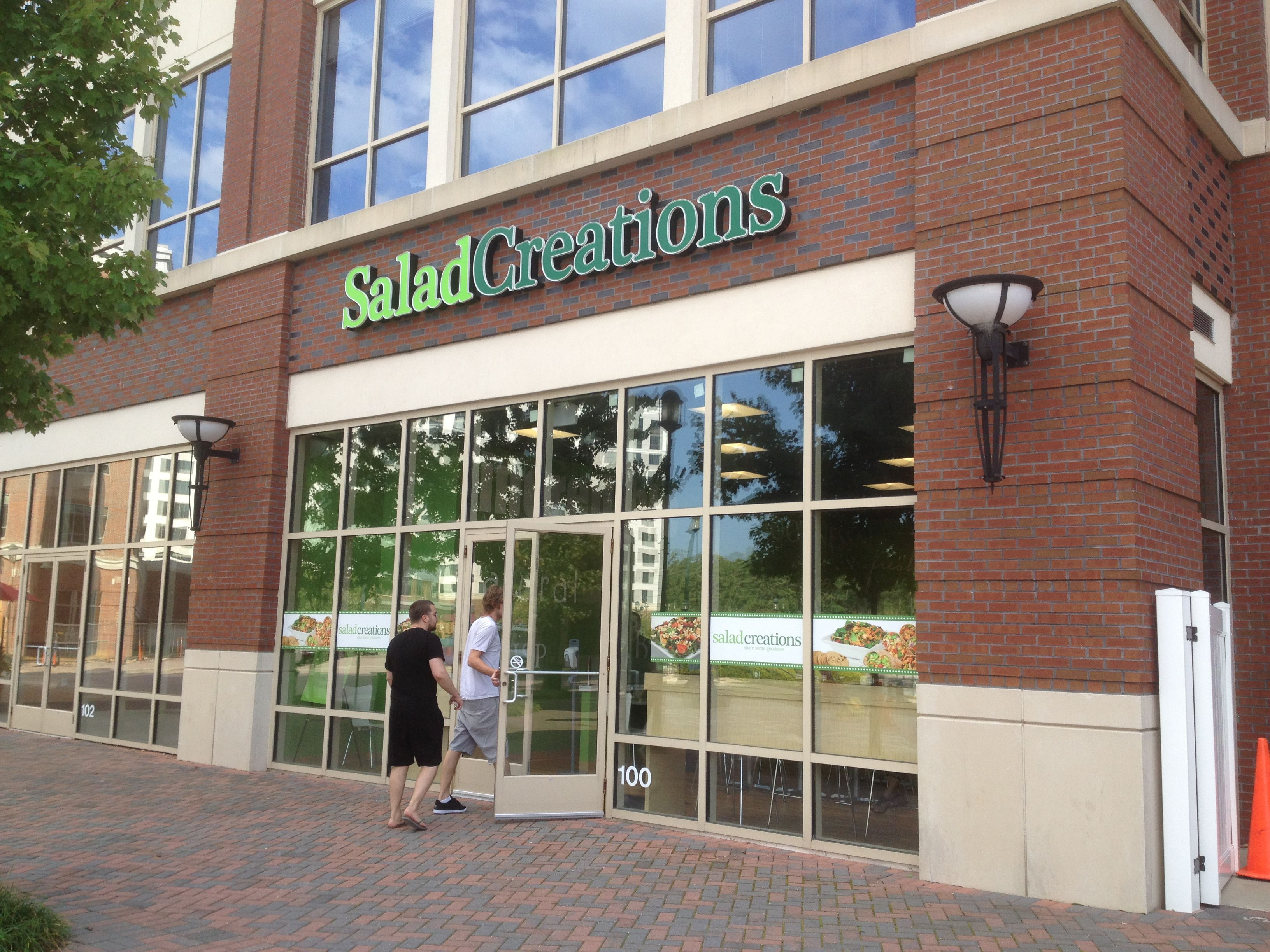 Salad Creations In City Center At Oyster Point Tourism Development Newport News Newport News Virginia