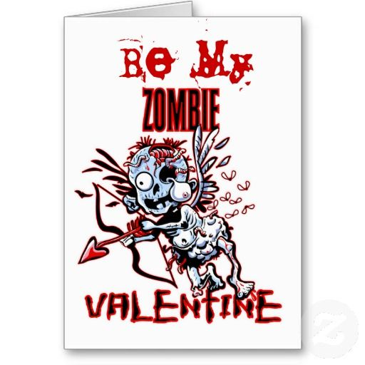 Zombie Valentine Card  Cards and Craft