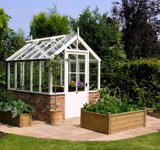 White Cottage Greenhouse- my father-in-law is going to ...