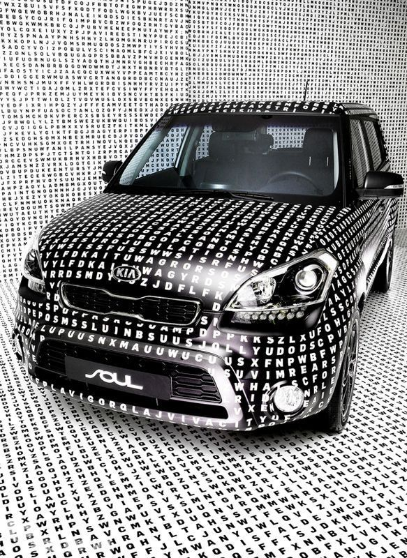 Kia Soul Love The Wrap Job On This One Concept Cars Vehicle Signage
