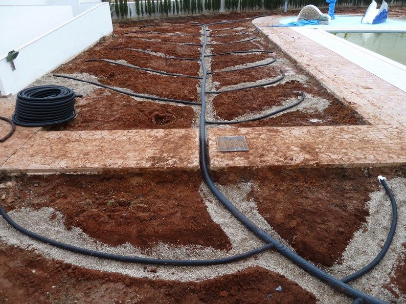 Ideas para mejorar el drenaje del suelo suelos drenaje for Drenaje de jardin