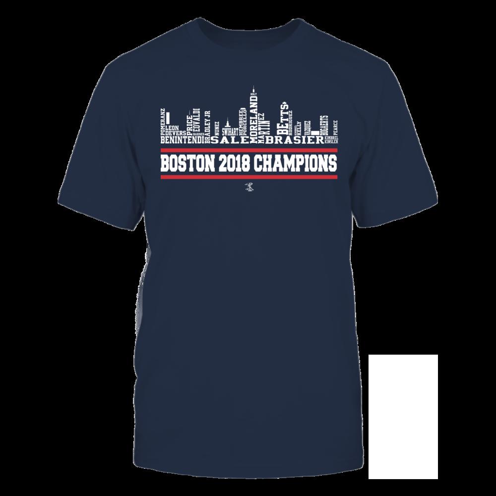 Boston Bubble Letters 2018 Champions Houston astros