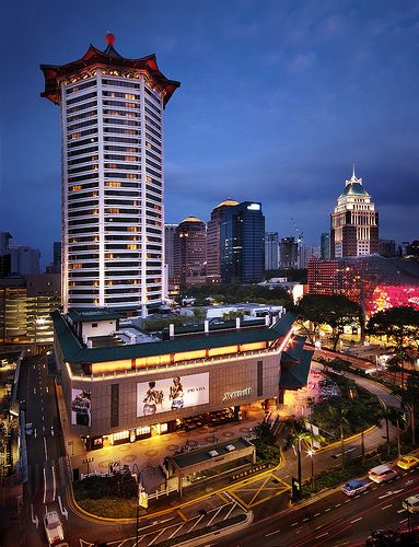 Marriott Hotel On Orchard Road Singapore The Libyan Esther Kofod My