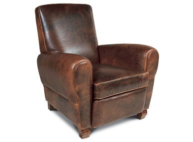 American Leather Chairs And Recliners Harley Davidson Chair Burrows Recliner Furnishings Cool Industrial Living Distressed